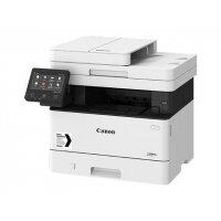 Canon i-SENSYS MF443dw - Multifunction printer - B/W - laser - A4 (210 x 297 mm), Legal (216 x 356 mm) (original) - A4/Legal (media) - up to 38 ppm (copying) - up to 38 ppm (printing) - 350 sheets - USB 2.0, Gigabit LAN, Wi-Fi(n), USB 2.0 host