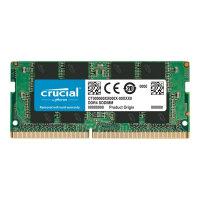 Crucial - DDR4 - 16 GB - SO-DIMM 260-pin - 2666 MHz / PC4-21300 - CL19 - 1.2 V - unbuffered - non-ECC