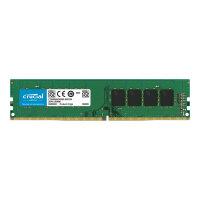 Crucial - DDR4 - 8 GB - DIMM 288-pin - 3200 MHz / PC4-25600 - CL22 - 1.2 V - unbuffered - non-ECC