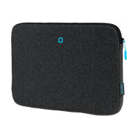 "DICOTA Skin FLOW - Notebook sleeve - 15"" - 15.6"" - blue, anthracite"