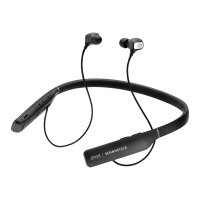 EPOS I SENNHEISER ADAPT 460T - Earphones with mic - in-ear - neckband - Bluetooth - wireless - active noise cancelling - black with silver