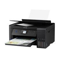 Epson EcoTank ET-2751 - Multifunction printer - colour - ink-jet - A4/Legal (media) - up to 33 ppm (printing) - 100 sheets - USB, Wi-Fi - black