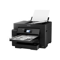 Epson EcoTank ET-M16600 - Multifunction printer - B/W - ink-jet - A3 plus (329 x 483 mm) (original) - A3 (media) - up to 32 ppm (printing) - 550 sheets - USB, LAN, USB host, Wi-Fi