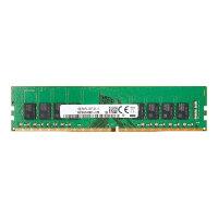 HP - DDR4 - 16 GB - DIMM 288-pin - 2666 MHz / PC4-21300 - 1.2 V - unbuffered - ECC - promo - for Workstation Z2 G4