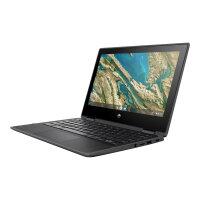 "HP Chromebook x360 11 G3 - Education Edition - flip design - Celeron N4020 / 1.1 GHz - Chrome OS 64 - 4 GB RAM - 32 GB eMMC - 11.6"" IPS touchscreen 1366 x 768 (HD) - UHD Graphics 600 - Wi-Fi, Bluetooth - slate grey - kbd: UK"