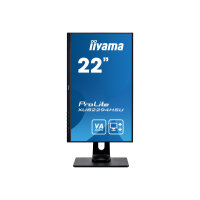 "iiyama ProLite XUB2294HSU-B1 - LED monitor - 22"" (21.5"" viewable) - 1920 x 1080 Full HD (1080p) @ 75 Hz - VA - 250 cd/m² - 3000:1 - 4 ms - HDMI, VGA, DisplayPort - speakers - matte black"