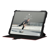 """UAG Case for iPad Air 10.9-in Gen 4, iPad Pro 11-in Gen 1/2 - Metropolis Black - Flip cover for tablet - magma - 11"""" - for Apple 10.9-inch iPad Air (4th generation); 11-inch iPad Pro"""