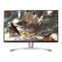 "LG 27UL650-W - LED monitor - 27"" (27"" viewable) - 3840 x 2160 4K @ 60 Hz - IPS - 350 cd/m² - 1000:1 - 5 ms - 2xHDMI, DisplayPort"