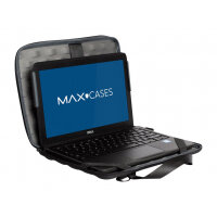 "MAXCases Explorer 4 Work-In Case w/Pocket - Notebook carrying case - 11.6"" - black"