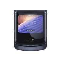 "Motorola RAZR 5G - Smartphone - dual-SIM - 5G NR - 256 GB - CDMA / GSM - 6.2"" - 2142 x 876 pixels - P-OLED - RAM 8 GB - 48 MP (20 MP front camera) - Android - polished graphite"