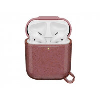 OtterBox Ispra Series - Case for wireless earphones - polycarbonate, zinc alloy, thermoplastic elastomer (TPE) - infinity pink - for Apple AirPods