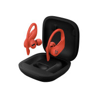 Beats Powerbeats Pro - True wireless earphones with mic - in-ear - over-the-ear mount - Bluetooth - noise isolating - lava red - for iPad/iPhone/iPod/TV/Watch