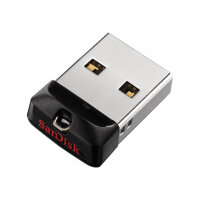 SanDisk Cruzer Fit - USB flash drive - 16 GB - USB 2.0