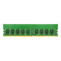 Synology - DDR4 - 16 GB - DIMM 288-pin - 2666 MHz / PC4-21300 - 1.2 V - unbuffered - ECC - for Synology SA3200; RackStation RS1619, RS2418, RS2818, RS3618; Unified Controller UC3200