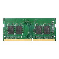 Synology - DDR4 - 4 GB - SO-DIMM 260-pin - 2666 MHz / PC4-21300 - 1.2 V - unbuffered - non-ECC - for Deep Learning NVR DVA3219