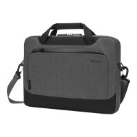 """Targus Cypress Slimcase with EcoSmart - Notebook carrying case - 14"""" - grey"""