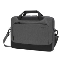 """Targus Cypress Slimcase with EcoSmart - Notebook carrying case - 15.6"""" - grey"""