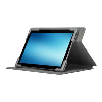 "Targus Safe Fit Universal 360° Rotating - Flip cover for tablet - polyurethane - black - 9"" - 10.5"""