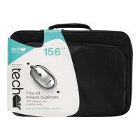 "techair - Notebook accessories bundle - 14"" - 15.6"" - black"