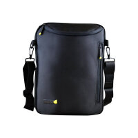 "techair Ultrabook Portrait - Notebook carrying shoulder bag - 12"" - 14.1"" - black"