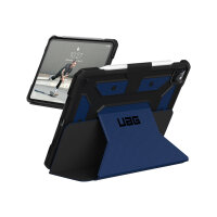 """UAG Rugged Case for iPad Pro 12.9 (4th Gen, 2020) - Metropolis Cobalt - Flip cover for tablet - rugged - polyurethane, thermoplastic polyurethane (TPU) - cobalt - 12.9"""" - for Apple 12.9-inch iPad Pro (4th generation)"""