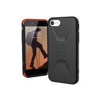 "UAG Rugged for Case for Apple iPhone SE (2020) - Civilian Black - Back cover for mobile phone - black - 4.7"" - for Apple iPhone SE (2nd generation)"