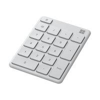 Microsoft Number Pad - Keypad - wireless - Bluetooth 5.0 - Glacier