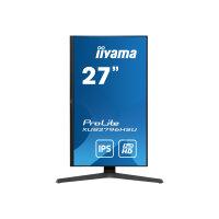 "iiyama ProLite XUB2796HSU-B1 - LED monitor - 27"" - 1920 x 1080 Full HD (1080p) @ 75 Hz - IPS - 250 cd/m² - 1000:1 - 1 ms - HDMI, DisplayPort - speakers"