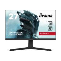 "iiyama G-MASTER Red Eagle GB2770HSU-B1 - LED monitor - 27"" - 1920 x 1080 Full HD (1080p) @ 165 Hz - Fast IPS - 250 cd/m² - 1100:1 - 0.8 ms - HDMI, DisplayPort - speakers - matte black"