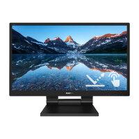 "Philips B Line 242B9TL - LED monitor - 24"" (23.8"" viewable) - touchscreen - 1920 x 1080 Full HD (1080p) @ 60 Hz - IPS - 250 cd/m² - 1000:1 - 5 ms - HDMI, DVI-D, VGA, DisplayPort - speakers - black texture"