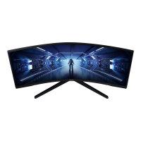 """Samsung Odyssey G5 C34G55TWWU - LED Monitor - Curved - 34"""" - 3440 x 1440 Ultra WQHD @ 165 Hz - VA - 250cdm2 - HDMI, DisplayPort - Colour: Black"""