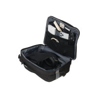 DICOTA Eco Accessory Pouch MOVE Large - Carrying bag for business / travel / gaming accessories - 600D RPET - black