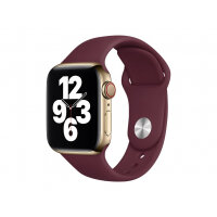 Apple 40mm Sport Band - Strap for smart watch - Regular size - plum - for Watch (38 mm, 40 mm)