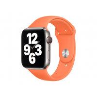 Apple 44mm Sport Band - Strap for smart watch - Regular size - kumquat - for Watch (42 mm, 44 mm)