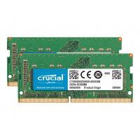 Crucial - DDR4 - kit - 64 GB: 2 x 32 GB - SO-DIMM 260-pin - 2666 MHz / PC4-21300 - CL19 - 1.2 V - unbuffered - non-ECC - for Apple iMac (Early 2019); Mac mini (Late 2018)
