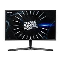 "Samsung C24RG50FQR - CRG5 Series - LED monitor - curved - 24"" (23.5"" viewable) - 1920 x 1080 Full HD (1080p) @ 144 Hz - VA - 250 cd/m² - 3000:1 - 4 ms - 2xHDMI, DisplayPort - black"