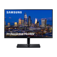 """Samsung F27T850QWR - T85F Series - LED monitor - 27"""" - 2560 x 1440 QHD @ 75 Hz - IPS - 350 cd/m² - 1000:1 - 4 ms - HDMI, DisplayPort - black"""