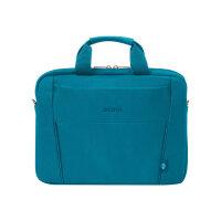 "DICOTA Eco Slim Case BASE - Notebook carrying case - 13"" - 14.1"" - blue"