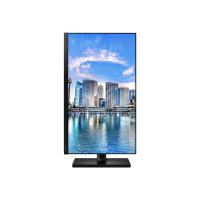 """Samsung F24T450FQR - T45F Series - LED monitor - 24"""" - 1920 x 1080 Full HD (1080p) @ 75 Hz - IPS - 250 cd/m² - 1000:1 - 5 ms - 2xHDMI, DisplayPort - black"""