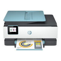 HP Officejet Pro 8025e All-in-One - Multifunction printer - colour - ink-jet - Legal (216 x 356 mm) (original) - A4/Legal (media) - up to 13 ppm (copying) - up to 20 ppm (printing) - 225 sheets - 33.6 Kbps - USB 2.0, LAN, Wi-Fi(n)