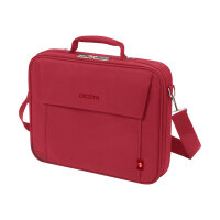 """DICOTA Eco Multi BASE - Notebook carrying case - 14"""" - 15.6"""" - red"""