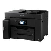 Epson EcoTank ET-M16600 - Multifunction printer - B/W - ink-jet - A3 plus (329 x 483 mm) (original) - A3 (media) - up to 25 ppm (printing) - 550 sheets - USB, LAN, USB host, Wi-Fi