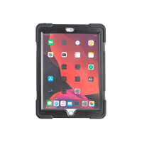 """techair classic pro - Protective case for tablet - rugged - silicone, polycarbonate - black - 10.2"""" - for Apple 10.2-inch iPad (7th generation, 8th generation)"""