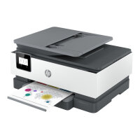 HP Officejet 8012e All-in-One - Multifunction printer - colour - ink-jet - A4 (210 x 297 mm), Legal (216 x 356 mm) (original) - A4/Legal (media) - up to 13 ppm (copying) - up to 18 ppm (printing) - 225 sheets - Wi-Fi(n)