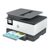HP Officejet Pro 9010e All-in-One - Multifunction printer - colour - ink-jet - Legal (216 x 356 mm) (original) - A4/Legal (media) - up to 21 ppm (copying) - up to 22 ppm (printing) - 250 sheets - 33.6 Kbps - USB 2.0, LAN, Wi-Fi(n), USB host