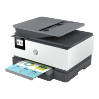 HP Officejet Pro 9012e All-in-One - Multifunction printer - colour - ink-jet - Legal (216 x 356 mm) (original) - A4/Legal (media) - up to 21 ppm (copying) - up to 22 ppm (printing) - 250 sheets - 33.6 Kbps - USB 2.0, LAN, Wi-Fi(n), USB host