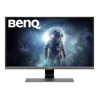 "BenQ EW3270UE - LCD monitor - 31.5"" - 3840 x 2160 4K UHD (2160p) @ 60 Hz - VA - 300 cd/m² - 3000:1 - HDR10 - 4 ms - 2xHDMI, DisplayPort, USB-C - speakers - black"