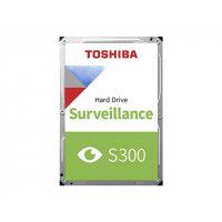 """Toshiba S300 Surveillance - Hard drive - 2 TB - internal - 3.5"""" - SATA 6Gb/s - 5400 rpm - buffer: 128 MB"""