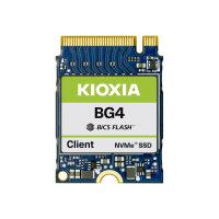 KIOXIA BG4 Series KBG40ZNS128G - Solid state drive - 128 GB - internal - M.2 2230 - PCI Express 3.0 x4 (NVMe)