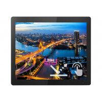 "Philips B Line 172B1TFL - LED monitor - 17"" - touchscreen - 1280 x 1024 SXGA @ 75 Hz - TN - 400 cd/m² - 1000:1 - 4 ms - HDMI, DVI-D, VGA, DisplayPort - black texture"